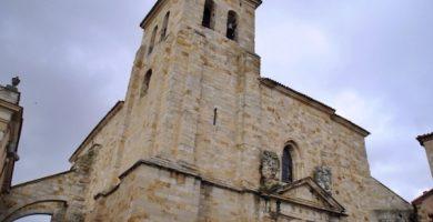mapa turistico iglesia de san ildefonso
