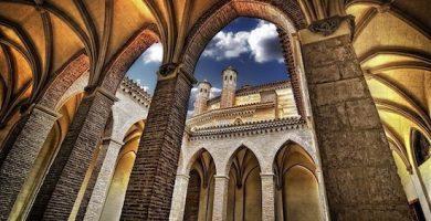 mapa turistico iglesia de san pedro Teruel