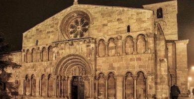 mapa turistico iglesia de santo domingo Soria