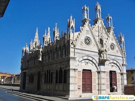 iglesia santa maria dellaspina pisa