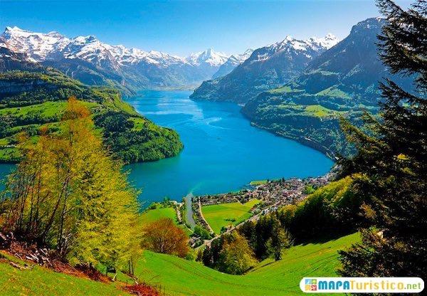 lago de los cuatro cantones