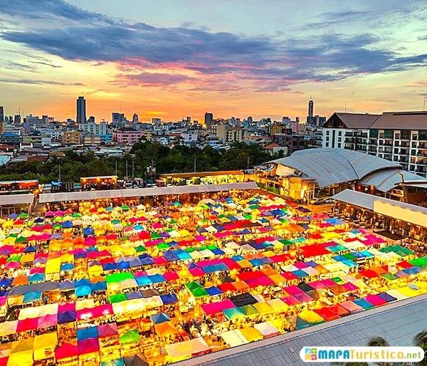 mercado nocturno patpong