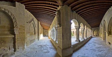 mapa turistico monasterio san pedro el viejo