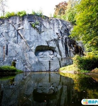 monumento al leon de lucerna
