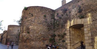 mapa turistico muralla romana