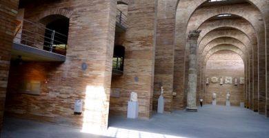 mapa turistico museo de arte romano