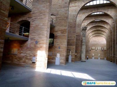 mapa-turistico-museo-de-arte-romano