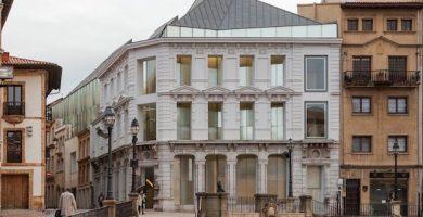 mapa turistico museo de bellas artes Oviedo