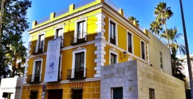 mapa turistico museo de la ciudad Murcia