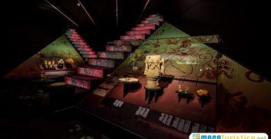 mapa turistico Museo Arqueológico Provincial de Alicante