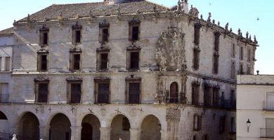 mapa turistico palacio de la conquista