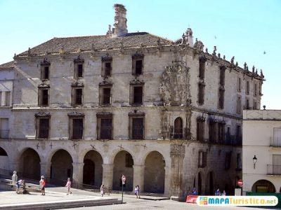 mapa-turistico-palacio-de-la-conquista