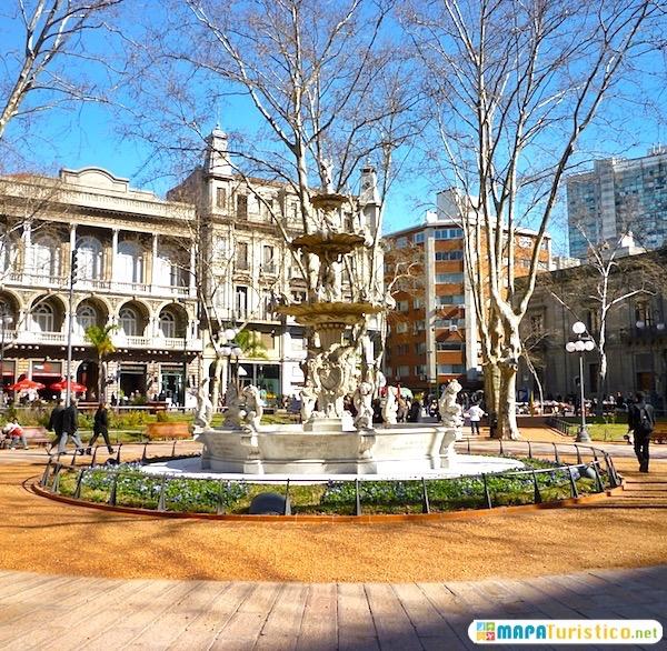 mapa turistico plaza matriz