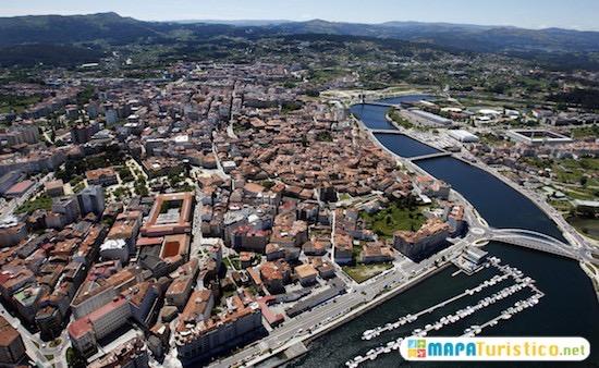 Mapa De Pontevedra Ciudad.Mapa Turistico Pontevedra En 2020