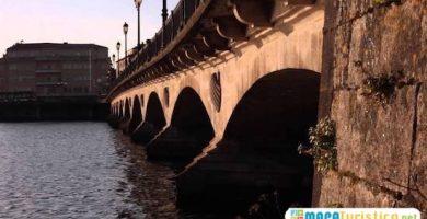 mapa turistico puente burgo romano