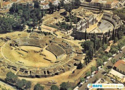 mapa-turistico-teatro-y-anfiteatro-romano