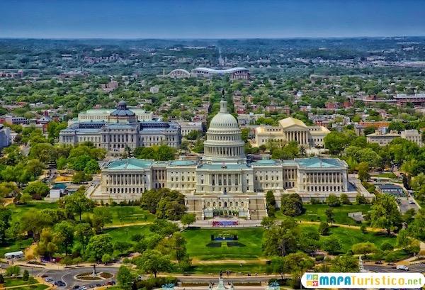 Mapa Turistico De Washington Dc En 2020