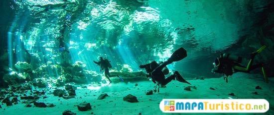 mar y cenotes para bucear tulum 7