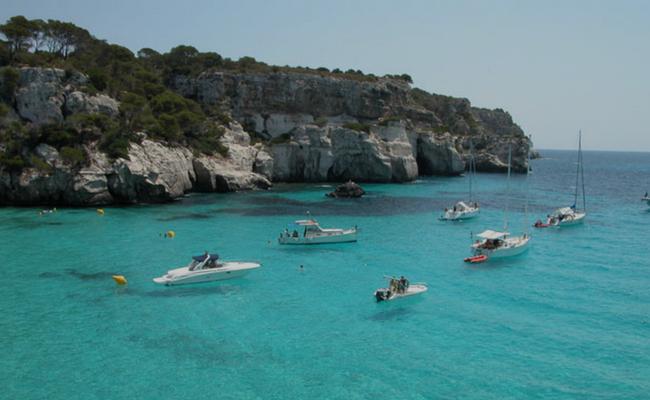 Menorca desde el cielo