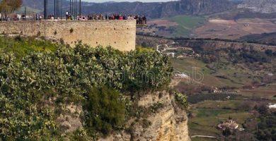 mirador de aldehuela y de balcon del coño ronda