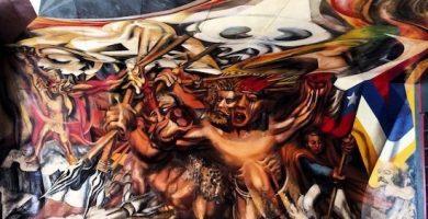 mural siqueiros y guerrero