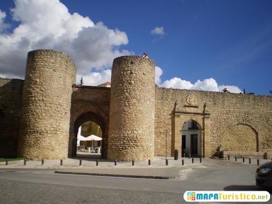 murallas y puestas arabes ronda