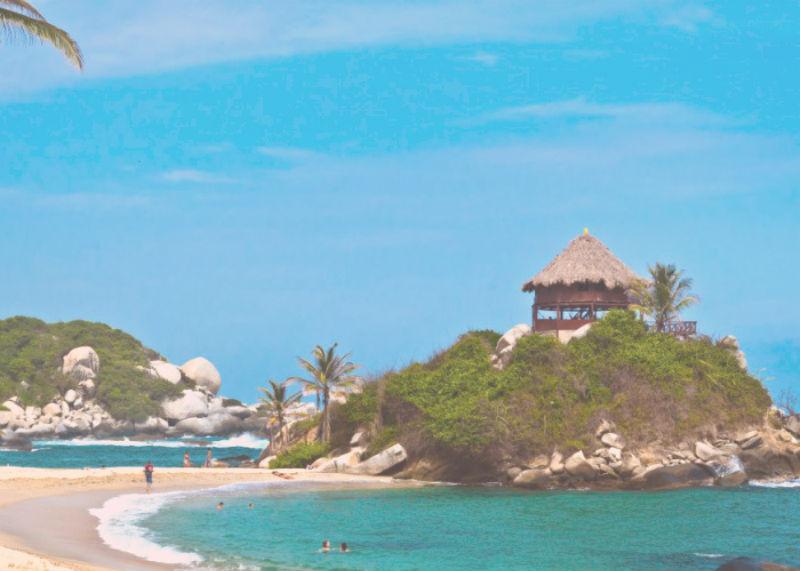 playa centro de santa marta