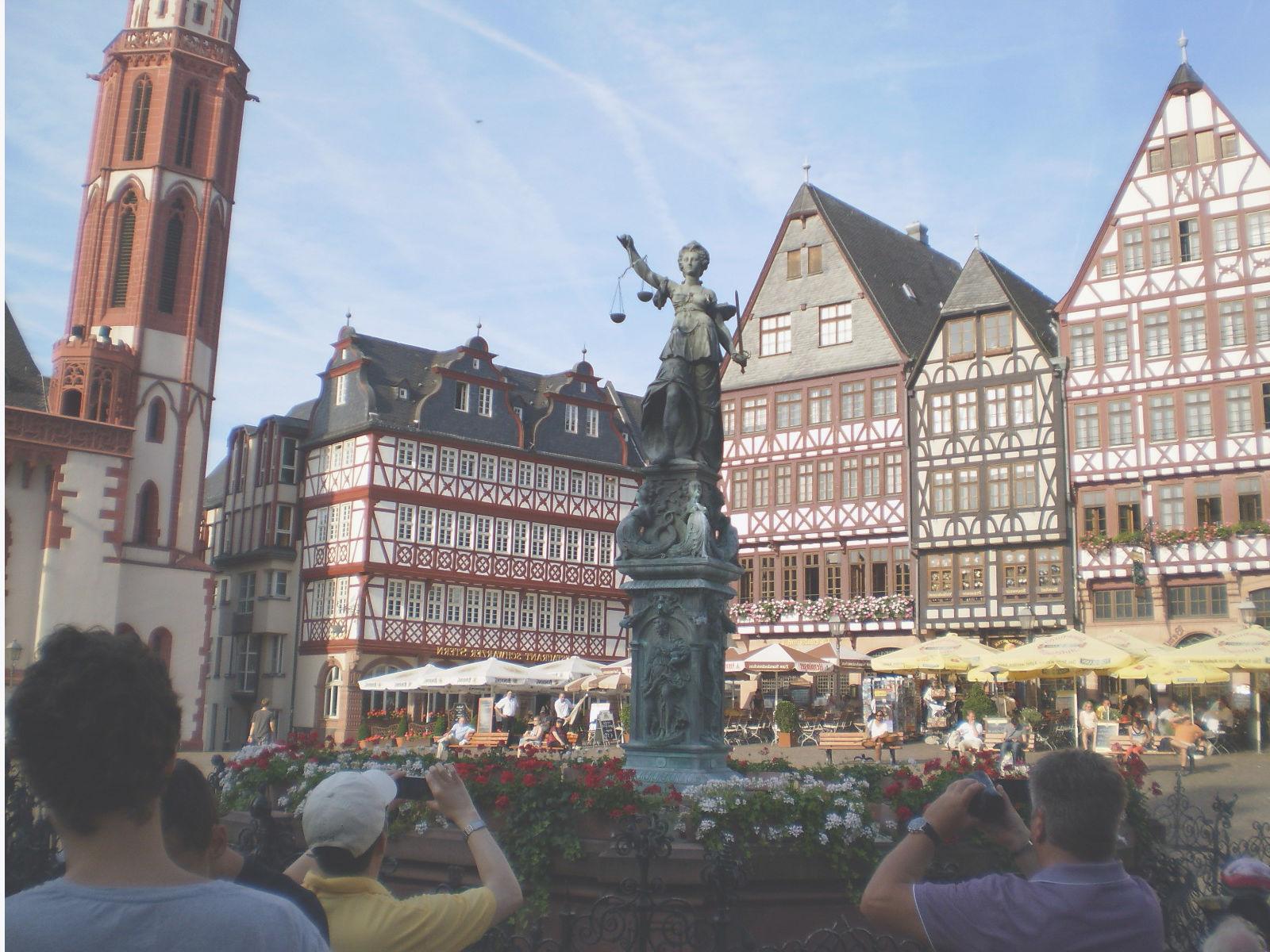 plaza centro de frankfurt