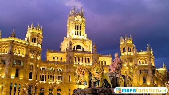 plaza los cibeles madrid