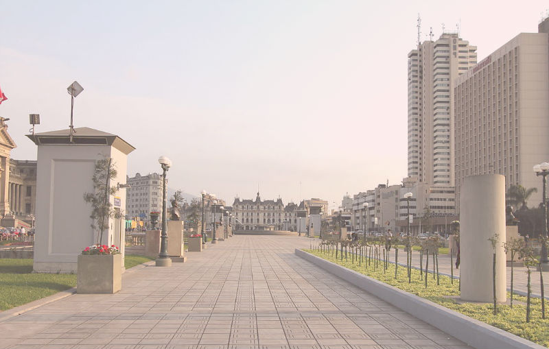 plazas centro de lima