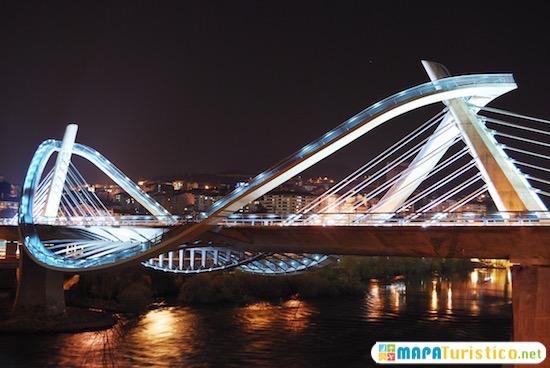 puente del milenio ourense galicia