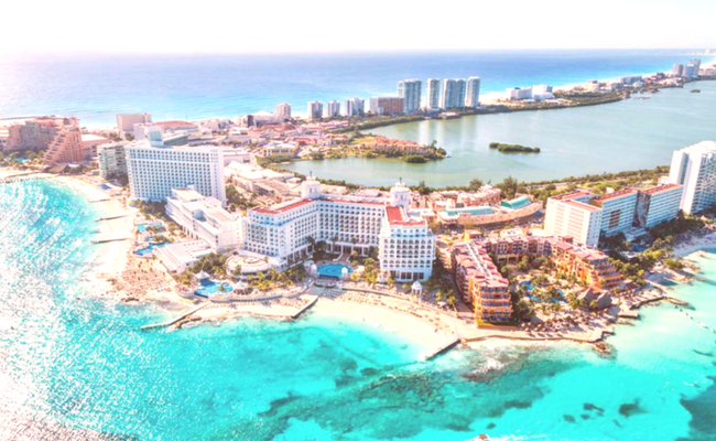 Quintana Roo desde el cielo