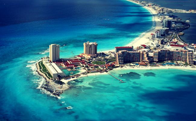 Quintana Roo vista aerea