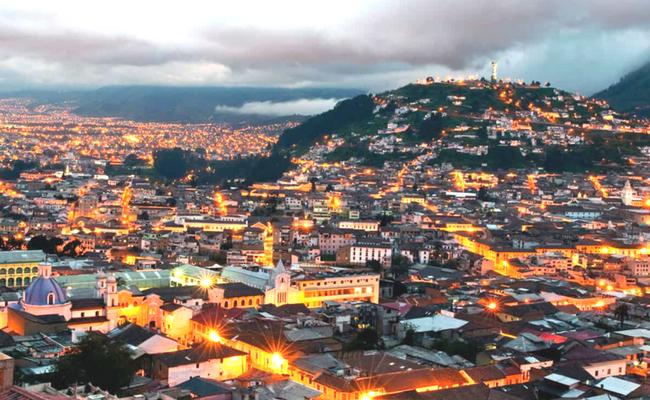 Quito desde arriba, miradores de la ciudad
