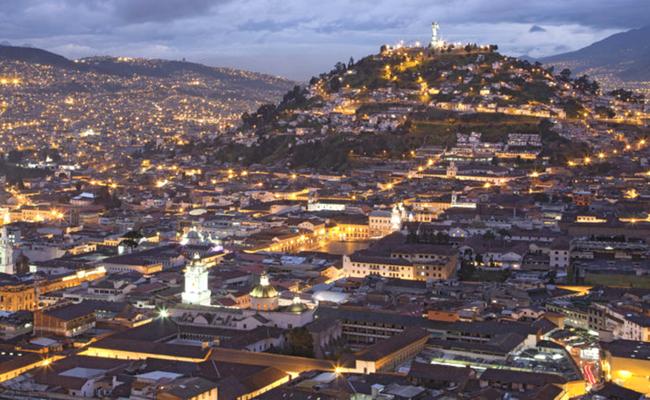 Quito desde el cielo