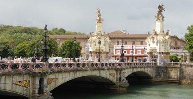 san sebastian puente de maria cristina