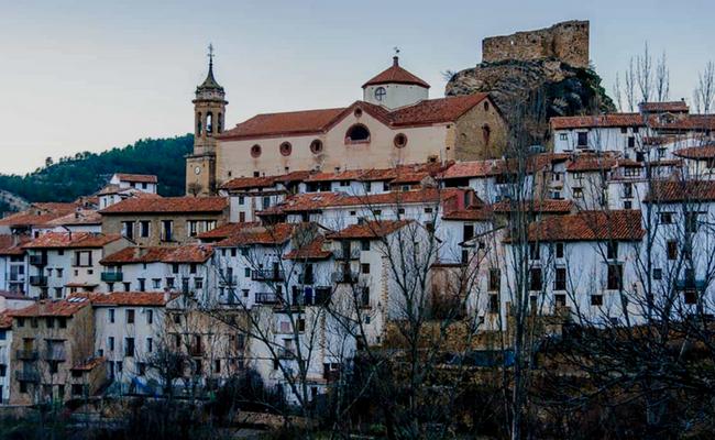 Teruel desde el cielo