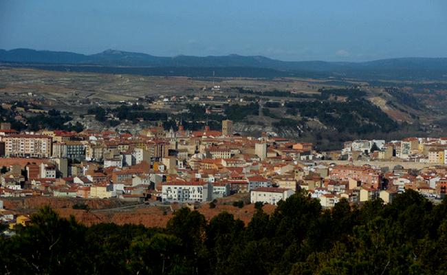 Teruel vista aerea