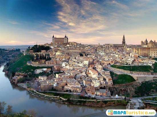 Mapa Provincia De Toledo Turismo.Mapa Turistico Toledo En 2019