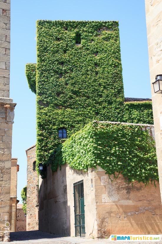 torre de los sande en caceres