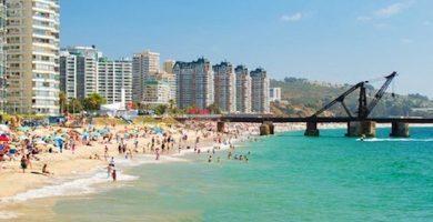 viña del mar playa reñaca