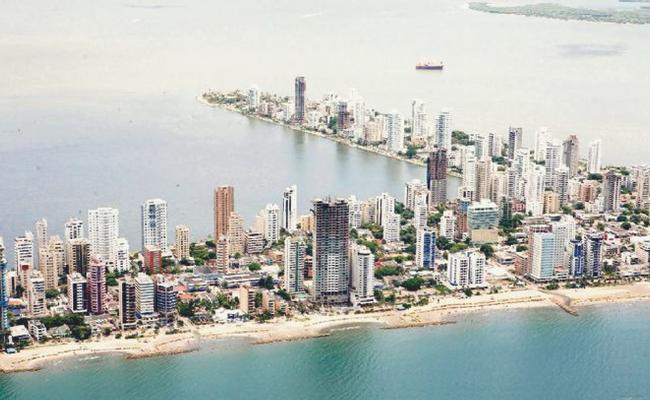 vista aerea cartagena