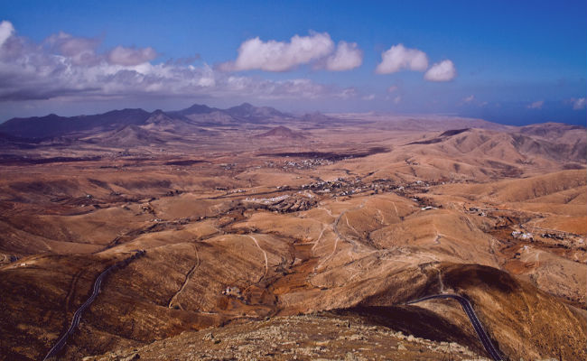 Fuerteventura desde el aire