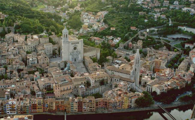 Vista aerea de Girona