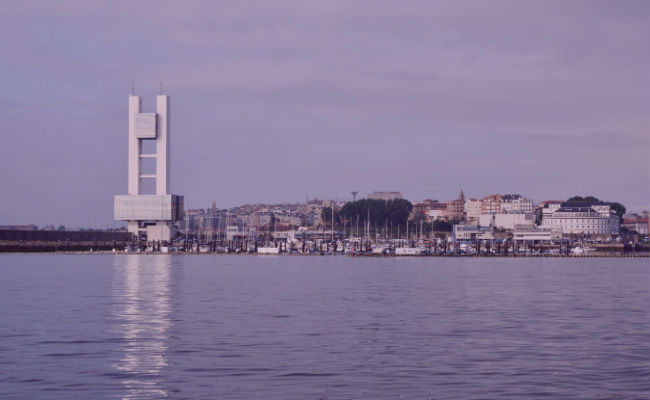 skyline A coruña