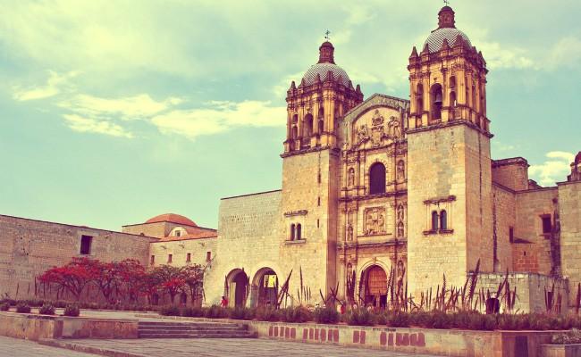 Iglesias en el centro de oaxaca