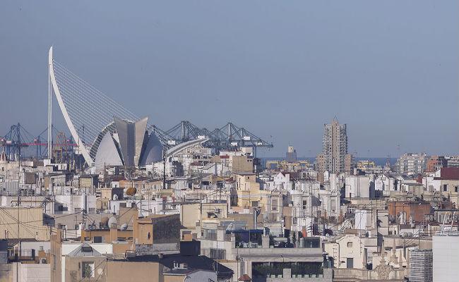 mirador ciudad de valencia