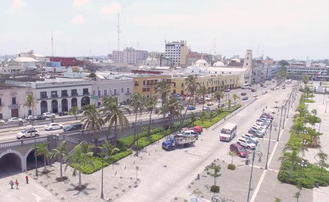 como llegar al centro de Veracruz