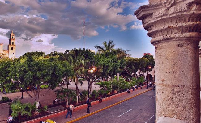 merida, el centro del Yucatan