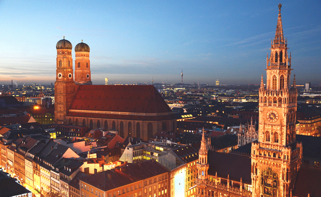 Munich desde el aire
